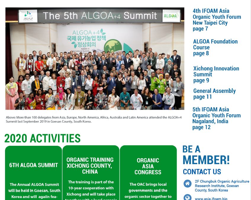 IFOAM Asia and ALGOA 2019 Newsletter