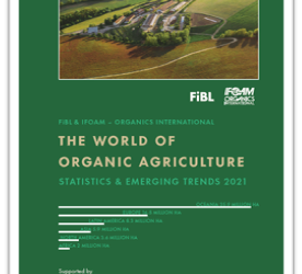 The World of Organic Agriculture 2021 is now available for download!